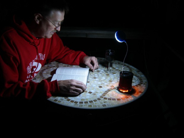 Licht zum Lesen... (Foto: Telurex)