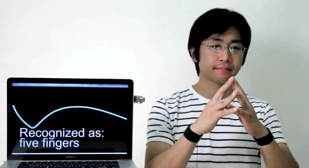 Touché-Sensor erkennt auch Berührungen am Körper des Nutzers (Screenshot Golem.de)