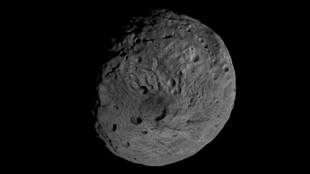Der Asteroid Vesta, hier die Südpolregion, ist der zweitgrößte Asteroid in unserem Sonnensystem. (Bild: Nasa)