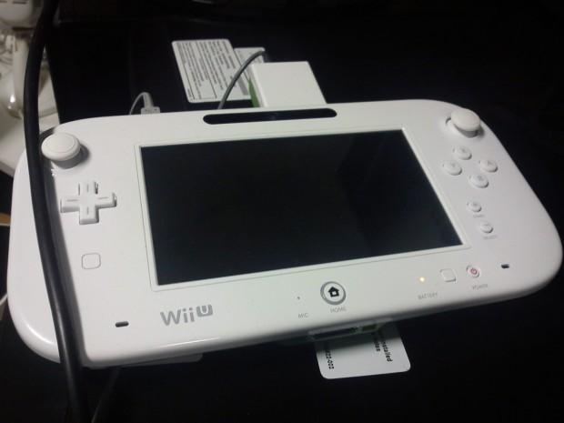 Von Matty B00sh veröffentlichtes Foto des Wii-U-Controllers
