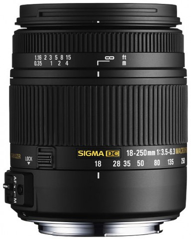 Sigma 18-250mm F3,5-6,3 DC Macro (OS) HSM (Bild: Sigma)