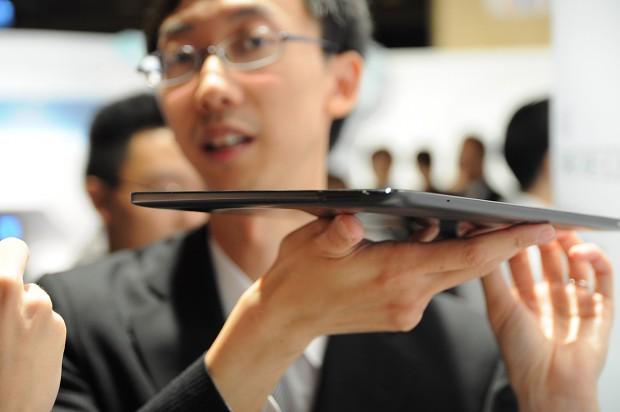 Das 11,6-Zoll-Tablet 810 von Asus...