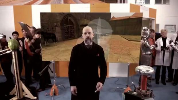 Clang - Neal Stephensons Subutai arbeitet am besseren Schwertkampf für Videospiele (Screenshot Golem.de)