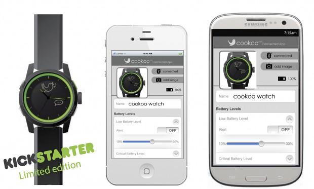 Cookoo und die Apps für iOS und Android (Bild: Kickstarter)
