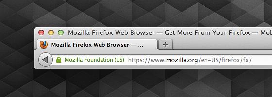 Firefox 14: Zugriff per SSL auf Website mit EV-Zertifikat