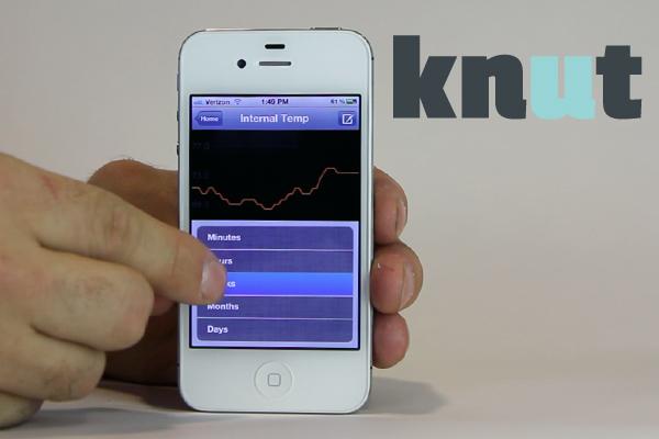 Knut: Autonomer Sensor mit Akku und E-Mail-Adresse -