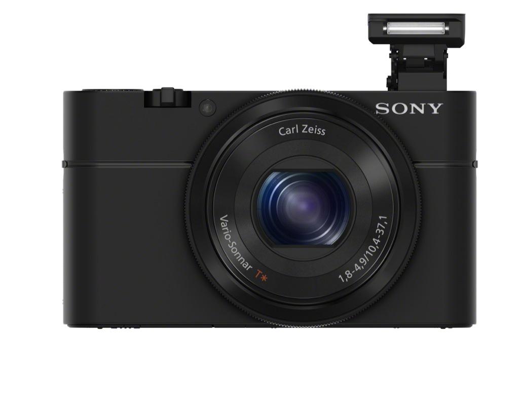 Sony RX100: Minikamera mit übergroßem Sensor - Sony Cyber-Shot DSC-RX100 (Bild: Sony)