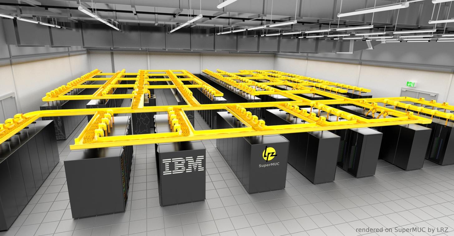 Supercomputer: Die USA hat den Schnellsten, Deutschland auf Platz 4 -