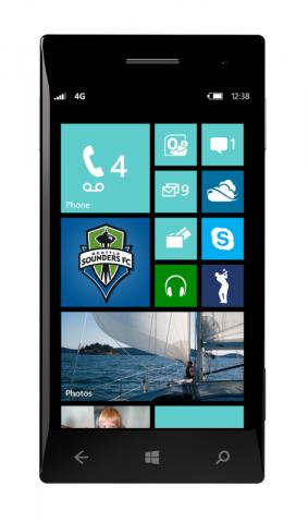 Startbildschirm von Windows Phone 8