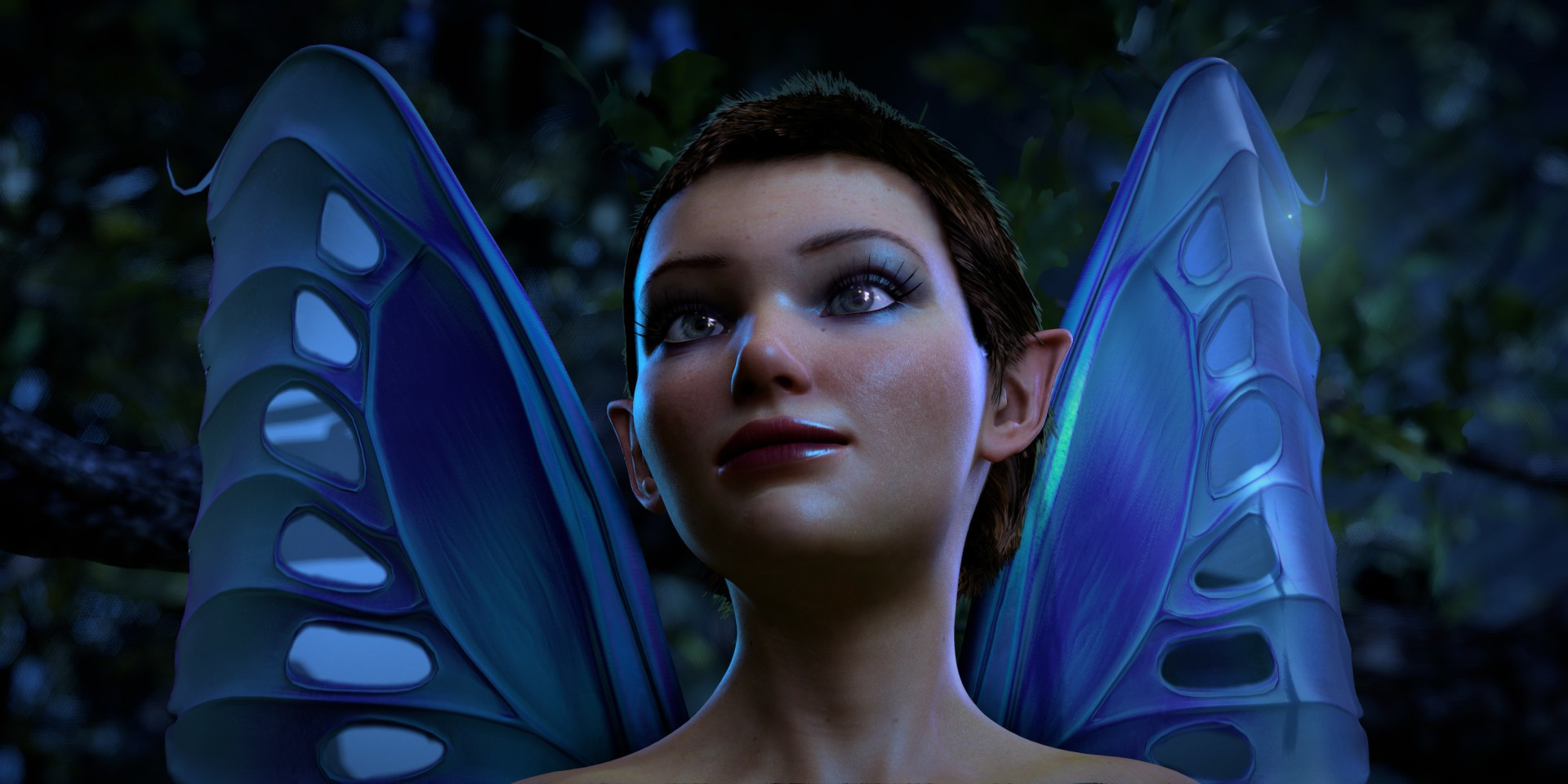 A New Dawn: Nvidias DX11-Elfe zum Download - New Dawn - Screenshot aus Nvidias neuer Kepler- Grafikdemo (Bild: Nvidia)