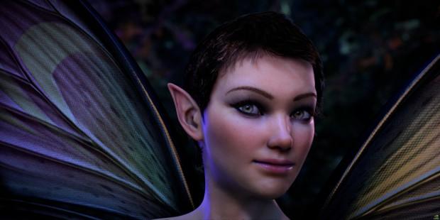 New Dawn - Screenshot aus Nvidias neuer Kepler- Grafikdemo (Bild: Nvidia)