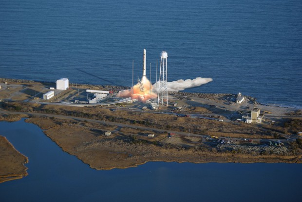 Orbital Sciences will künftig mit der Trägerrakete Antares... (Grafik: Orbital Sciences)