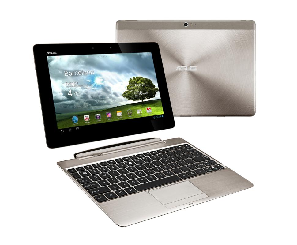Asus Transformer Pad Infinity: Dünnes Tablet mit Full-HD-Display und Tastatur - Asus Transformer Pad Infinity mit Dockingtastatur