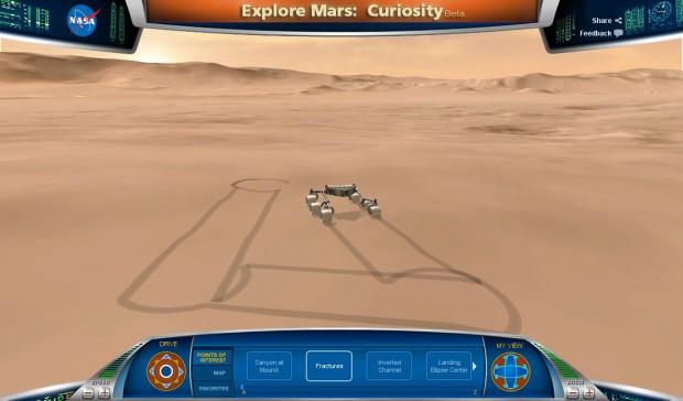 Bild aus Explore Mars - Curiosity.