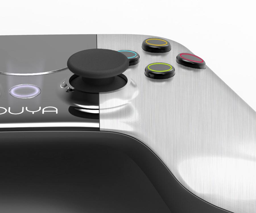 Ouya: Android-Spielekonsole erobert Kickstarter - Controller der Ouya
