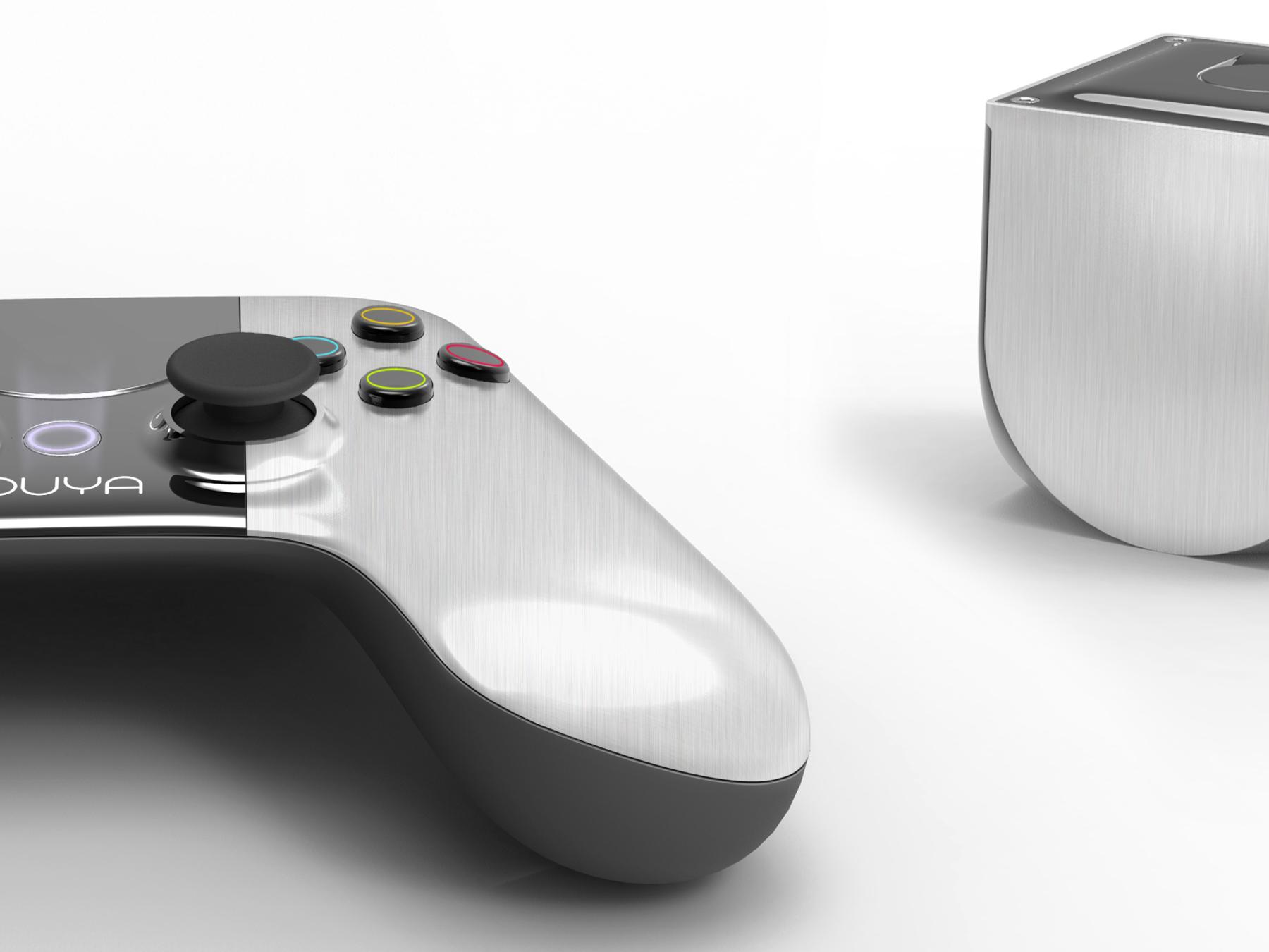 Ouya: Android-Spielekonsole erobert Kickstarter - Ouya mit Controller