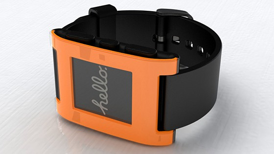 Neue Pebble-Farbe: Orange