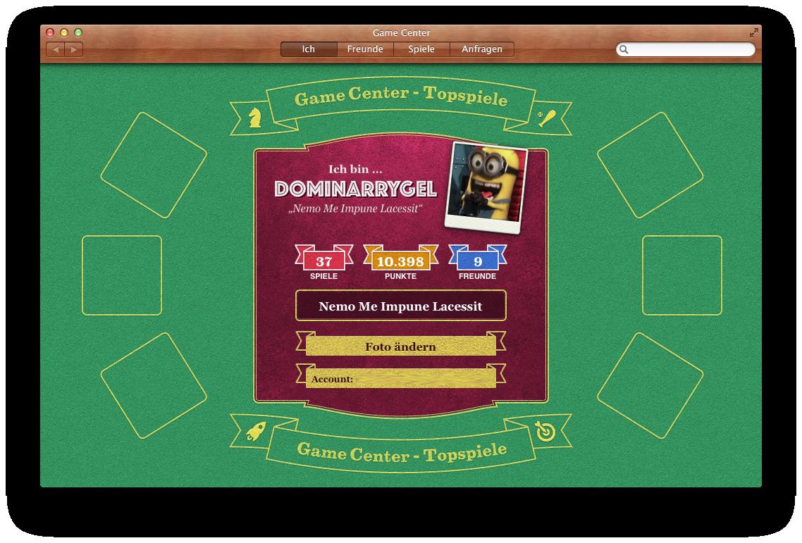Mac OS X 10.8 Mountain Lion im Test: Apples Desktop-iOS mit komplizierter iCloud - Gamecenter-Anwendung