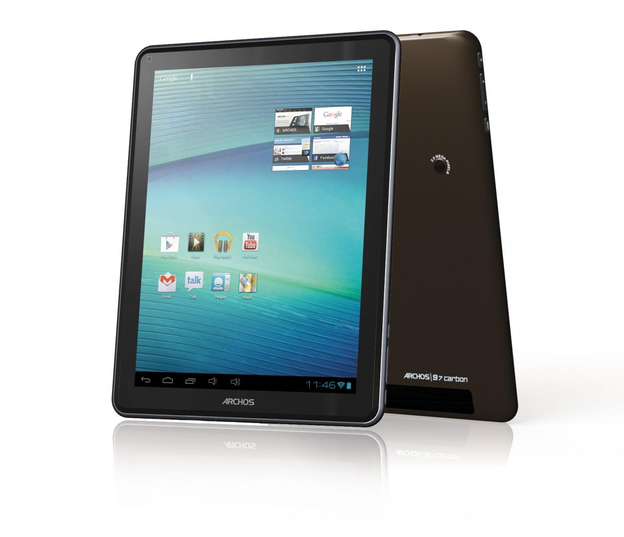 Archos 97 Carbon: Das erste der Elements-Tablets - Archos 97 Carbon - 9,7-Zoll-Tablet mit Android (Archos)