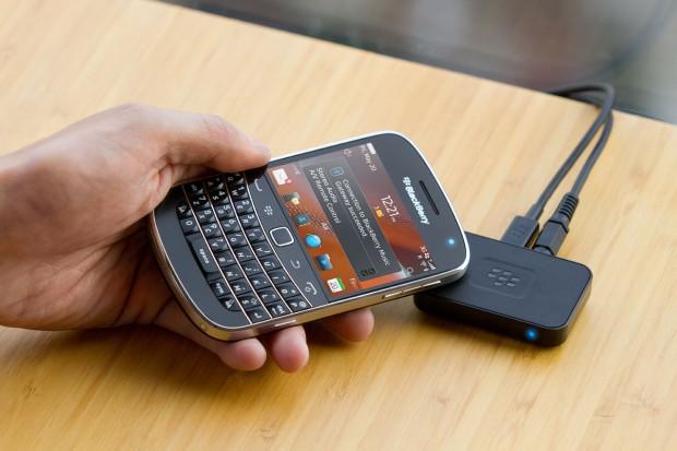 Blackberry Music Gateway - bringt Musik etwa vom Smartphone zur Stereoanlage. (Bild: RIM)