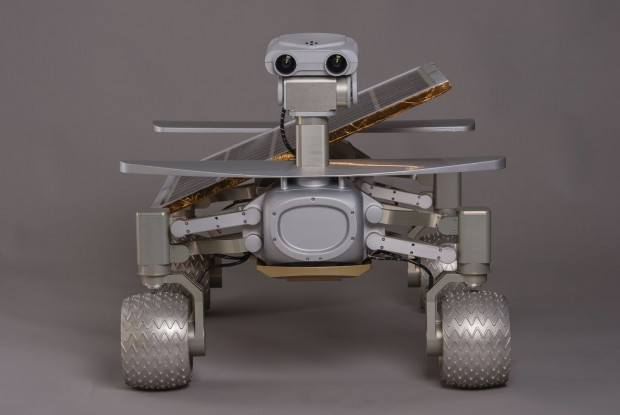 Der Rover Asimov, ... (Foto: Part Time Scientists)