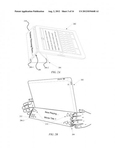 Smartcover mit Zusatzdisplay und integrierter Tastatur (Bild: Apple)