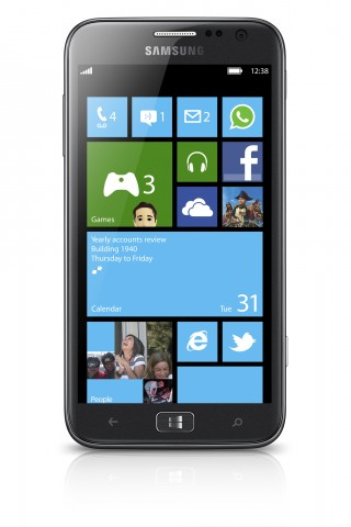 Samsung Ativ S mit Windows Phone 8 (Quelle: Samsung)