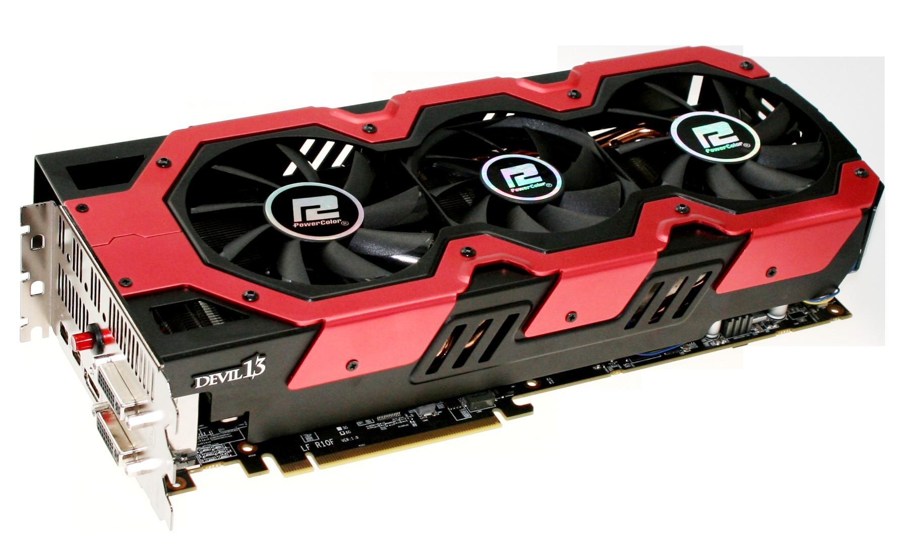 Powercolor Devil 13 HD7990: Grafikkarte mit zwei Tahiti-XT-GPUs bald erhältlich -