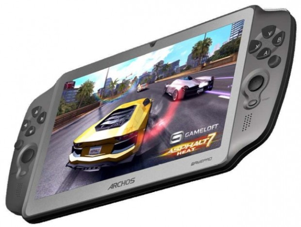 Archos Gamepad mit Analog-Sticks und Android 4.0