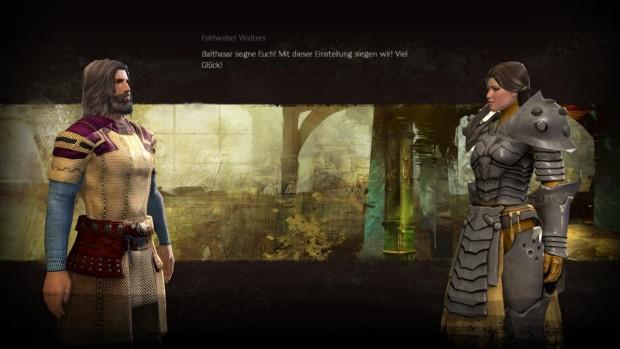 In einigen Dialogen sieht der Spieler die Gesprächspartner von der Seite.