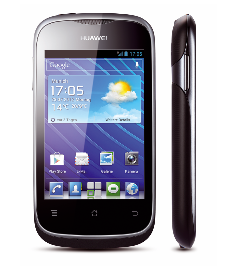Huawei Ascend Y201 Pro: Android-4-Smartphone mit 4 GByte Flash