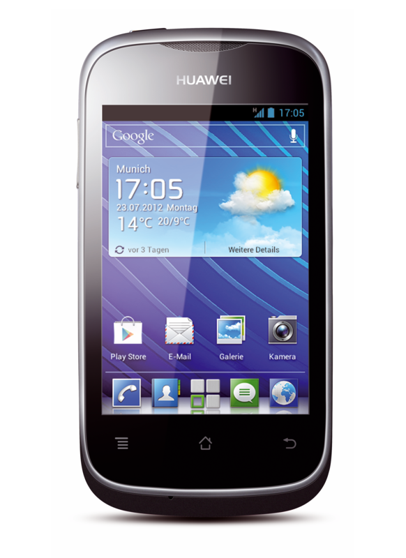 Huawei Ascend Y201 Pro: Android-4-Smartphone mit 4 GByte Flash-Speicher für 130 Euro - Ascend Y201 Pro (Quelle: Huawei)