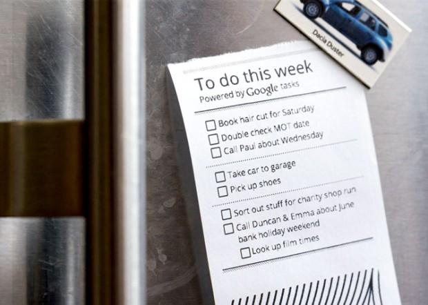 To-do-Liste von Google Tasks (Bild: Berg)