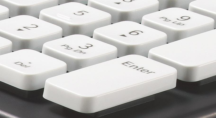 Logitechs Washable Keyboard K310: PC-Tastatur zum Abspülen - Logitech Washable Keyboard K310 - mit abstehenden Chiclet-Tasten (Bild: Logitech)