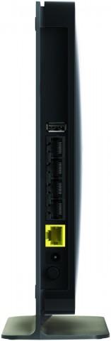 Gigabit für LAN und WAN sowie USB am N750 (Bilder: Netgear)