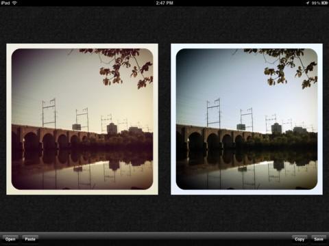 Mit Instagram (l.) und Normalize (r.) (Bild: Joe Macirowski)