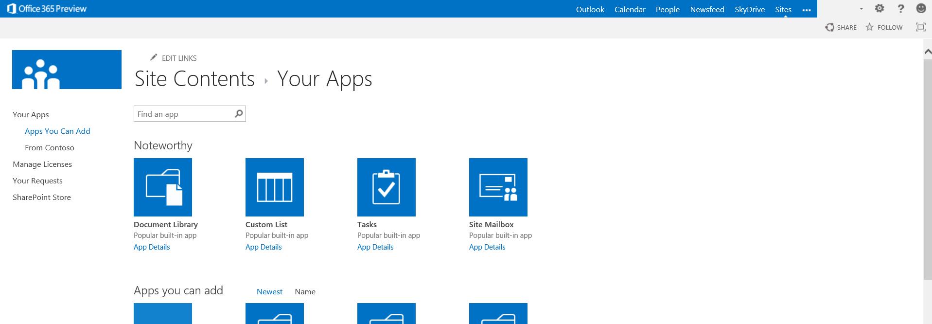 Microsoft Office 2013: Appstore für Office - Direkter Zugriff auf Apps in Office 2013