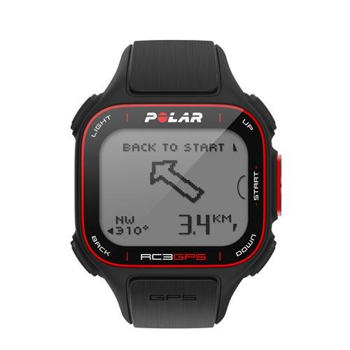 Polar RC3 GPS: Pulsuhr mit integriertem GPS-Empfänger - Polar RC3 GPS