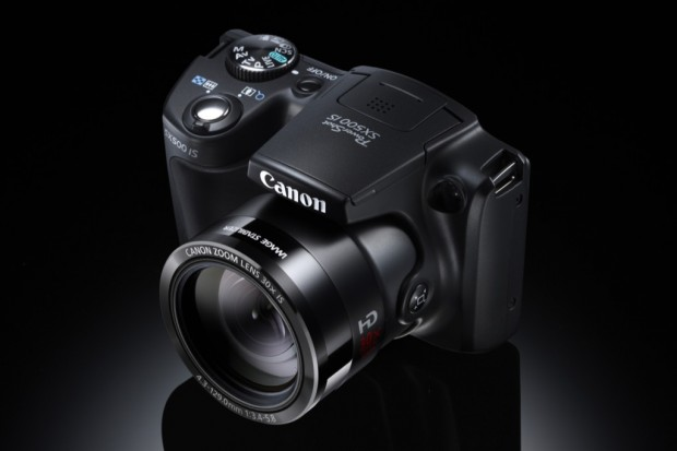 Canon Powershot SX500 IS (Bild: Canon)