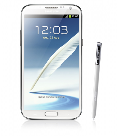 Galaxy Note 2 (Quelle: Samsung)
