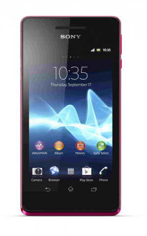 Xperia V (Quelle: Sony)