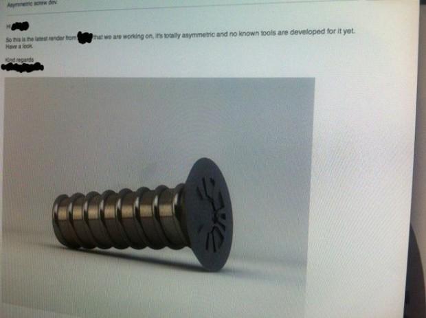 Das Lockmittel war eine selbstadressierte, abfotografierte E-Mail. (Bild: Day4)