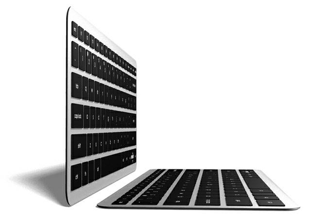 Synaptics: Dünne Ultrabook-Tastatur mit Gestenerkennung - Synaptics Thintouch (Bild: Synaptics)