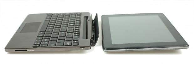 Das Asus Padfone besteht aus Smartphone, Tablet und einer Dockingstation. (Fotos: Christian Schmidt-David)