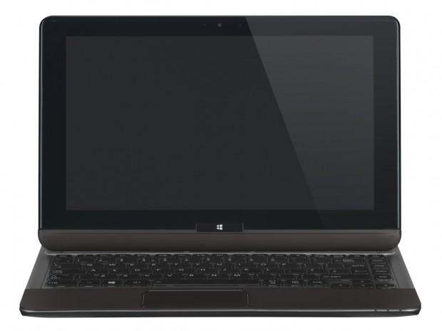 Das Toshiba U920t sieht aus wie ein Ultrabook... (Bilder: Toshiba)