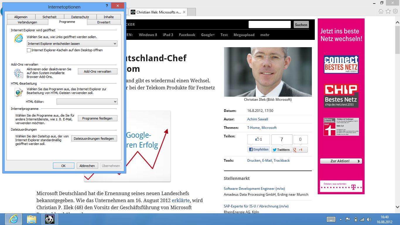 Windows 8 im Test: Microsoft kachelt los und eckt an -