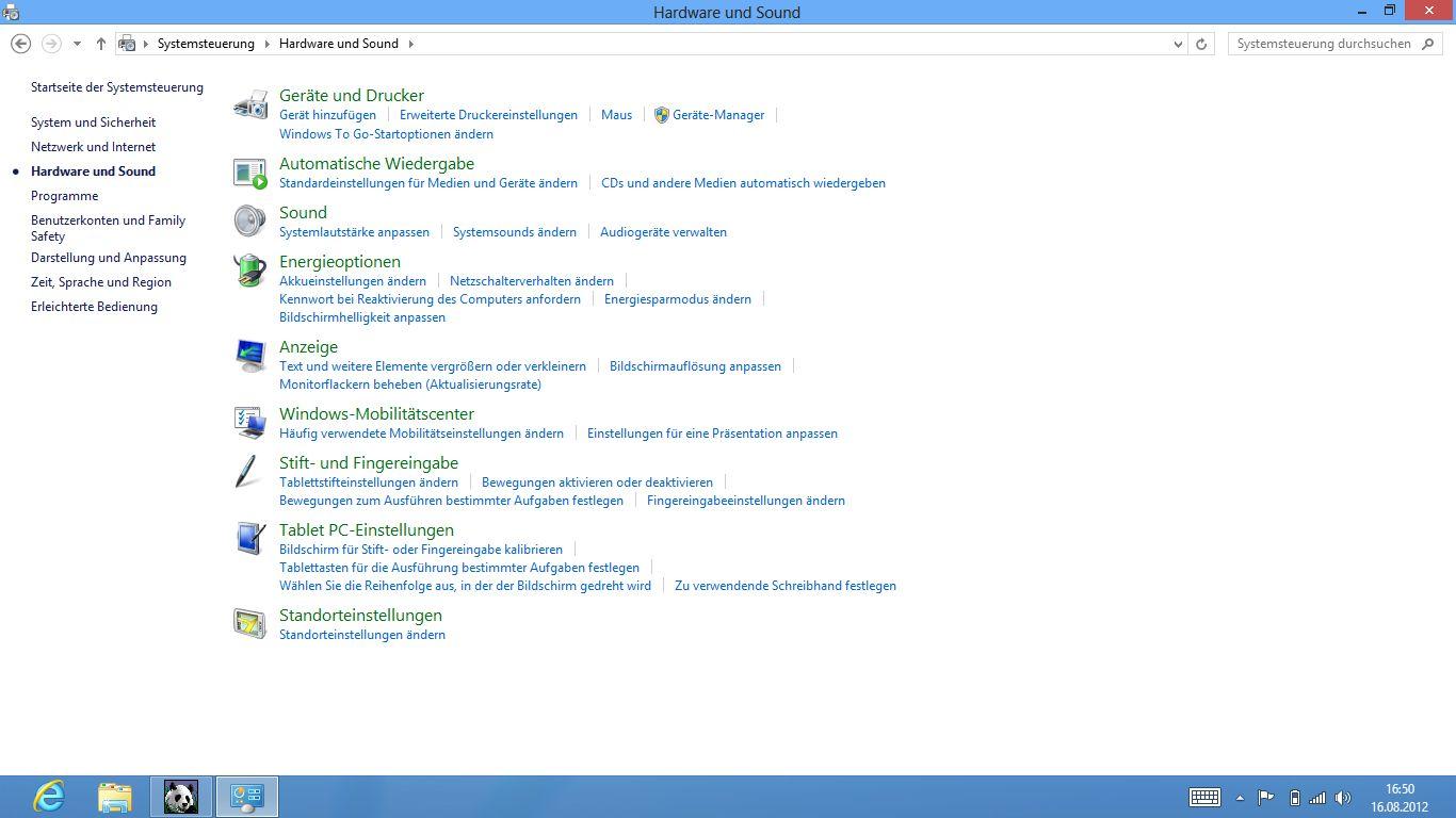 Windows 8 im Test: Microsoft kachelt los und eckt an - Hardware und Sound