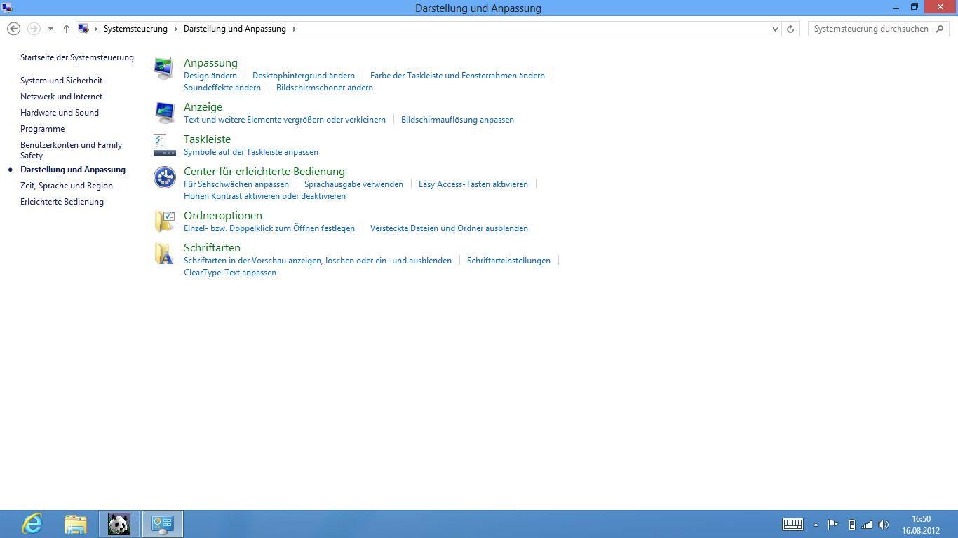 Windows 8 im Test: Microsoft kachelt los und eckt an - Darstellung anpassen