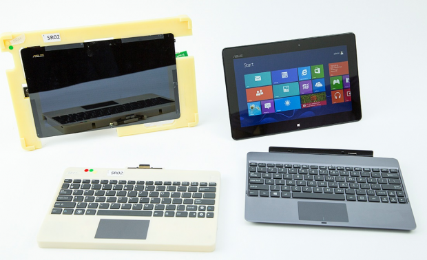 Frühe Prototyp des Windows-RT-Tablets von Asus