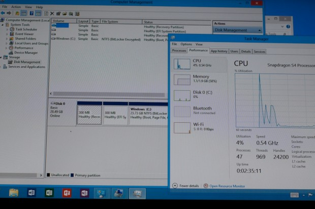 Windows RT auf Samsungs Ativ Tab